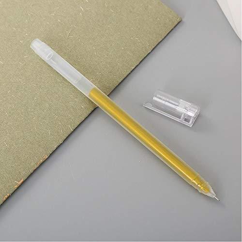 1 STKS Creative DIY Album Hoogtepunt Poeder Kleur Pen Mooie Leren briefpapier Candy Kleur 10 Gekleurde Ravens Pen Goud