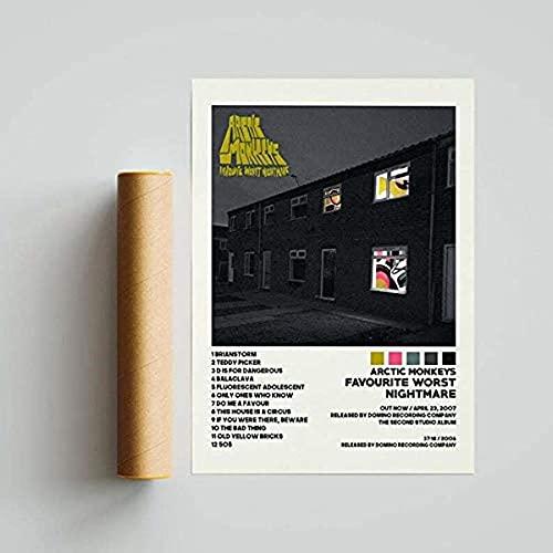 Lizacheng Posters Favoriete slechtste nachtmerrie Poster Album Cover Poster, Print Wall Art , Aangepaste Poster…