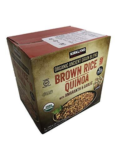 Kirkland Sinature Organic Brown Rice amp Quinoa 6/85 OzNet Wt 51 Oz