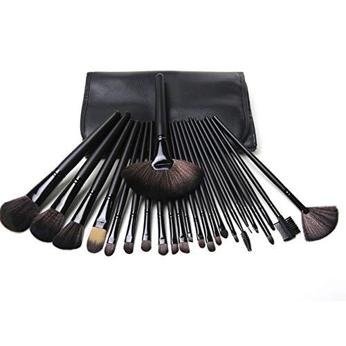 Maquillage 24pcs Kit brosse avec sac - pinceau de maquillage professionnel Collection Brosses cosmétiques pour la Fondation Blending fard à joues Correcteur Eye Shadow Brush Set