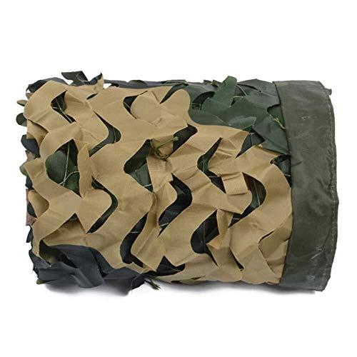 XCJ Außensonnensegel, Visiertuch, Camouflage Schatten Netto,Sonnensegel Dicke Verschlüsselung Sonnencreme Im Freien Luftverteidigung Tarnung Tarnnetz (Size : 6X8M)