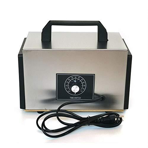 Futchoy Generador de Ozono 20 g/h Commercial Purificador Industrial para desinfectar y purificar el aire para la casa, el sótano, el coche, el bar y las granjas