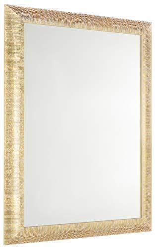 GaviaStore - Elise 70x50 cm - Espejo de Pared Moderno - Muebles para el hogar Arte decoración Sala de Estar Sala Moderna...