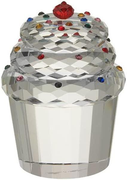 奥列格卡西尼水晶纸杯蛋糕镇纸
