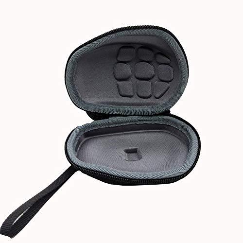 Libertroy Funda de ratón inalámbrico para computadora de tamaño portátil para Logitech Inalambrico MX Master/Master 2S EVA Bolsa de Transporte Bolsa - Negro - 1 Tamaño