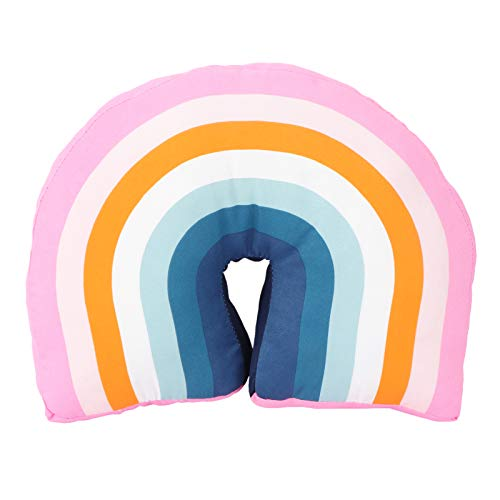 VOSAREA Coussin créatif en forme d'arc-en-ciel - Rembourré - Doux - Jouet pour enfants - Pour la maison, la chambre d'enfant, le canapé, le bureau - Décoration