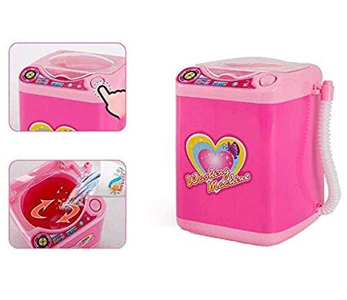 Limpiador de brochas de maquillaje eléctrico máquina de limpieza automática secador electrónico para Barbie Juguetes Muñecas Accesorios (Rosa3)
