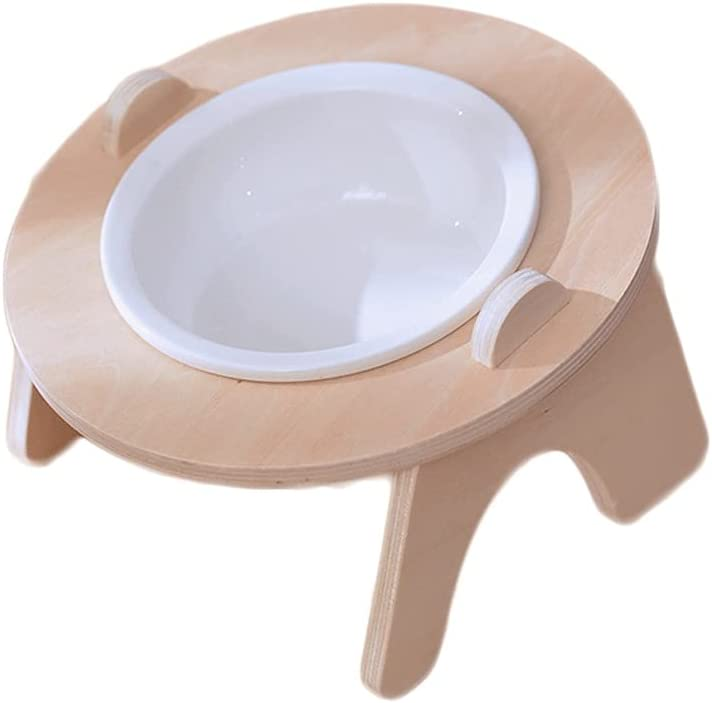 MGJM Overhead Dog Bowl Pet with Max 58% OFF Tray Max 82% OFF Feeder Bamboo