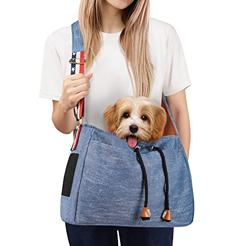 Pet Dog Sling Carrier - Small Dog Carrier Adjustable - Puppy Sling Bag with Breathable Mesh - Your...