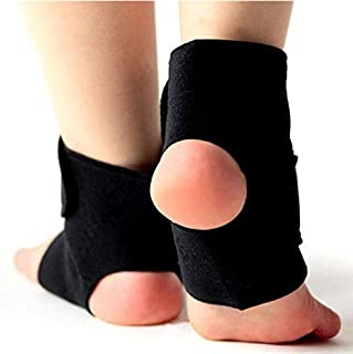 HealthyNeeds TONQUU 1Pair Safety Ankle Support Gym Running Protection Black Foot Bandage Elastic