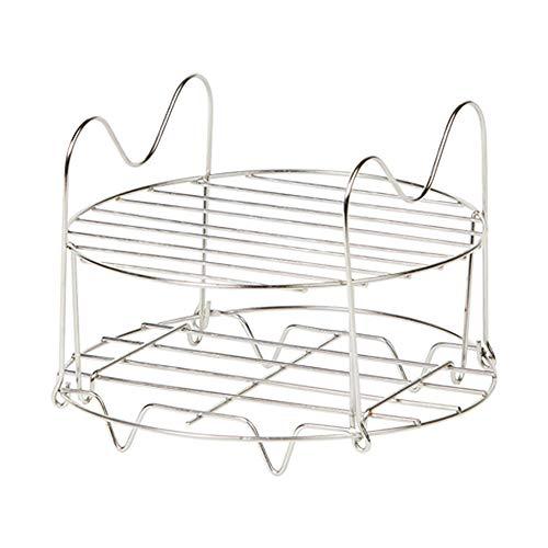 Emeril Pressure AirFryer Replacement Rack Air Fryer Accessories & Parts Dehydrator Stand Stainless Steel Dishwasher Safe (6 Quart)
