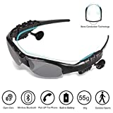 Bluetooth Sunglasses, IXIGER Music Sunglasses Headsets Compatible to Listen Music and Make Phone Calls with Polarized Protection Safety Lenses,Unisex Design Sport Design for All Smart Phones