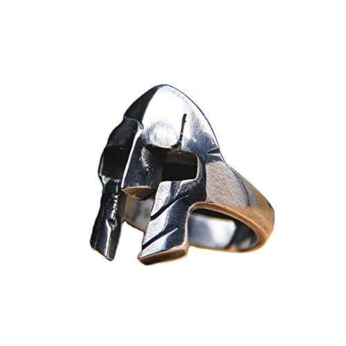 GSJDD Anello Black Vintage Gladiatore Romano Handmade in Italy (Color : B, Size : 10)