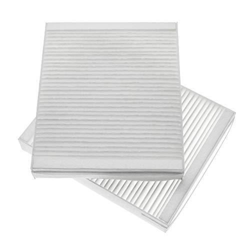 vhbw 2x Luftfilter M5 passend für Lunos Nexxt Lüfter, Badlüfter, Ventilator, Lüftungsgerät (1x Abluftfilter, 1x Zuluftfilter)