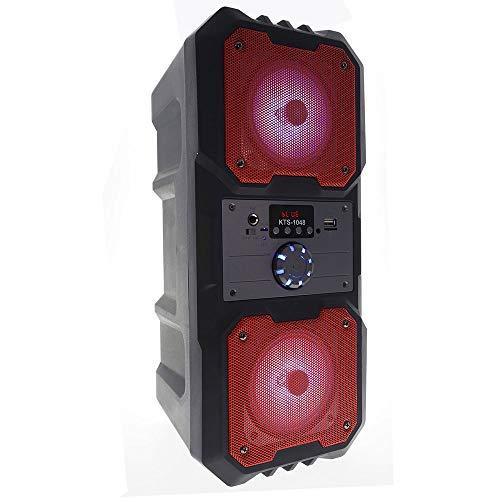 SOGO Altavoz Torre PORTÁTIL Bluetooth SS-8463 (Rojo)