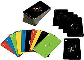 UNO Minimalista, Juego de Cartas para niños de 7 años en adelante, para 2 a 10 Jugadores