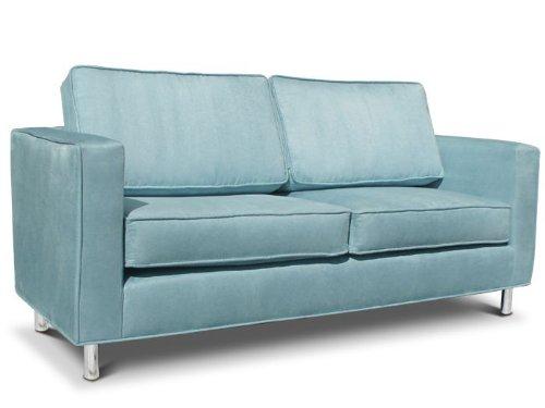 Big Sale Jennifer Delonge: Ava Child Sofa in Microsuede (Sky Blue)
