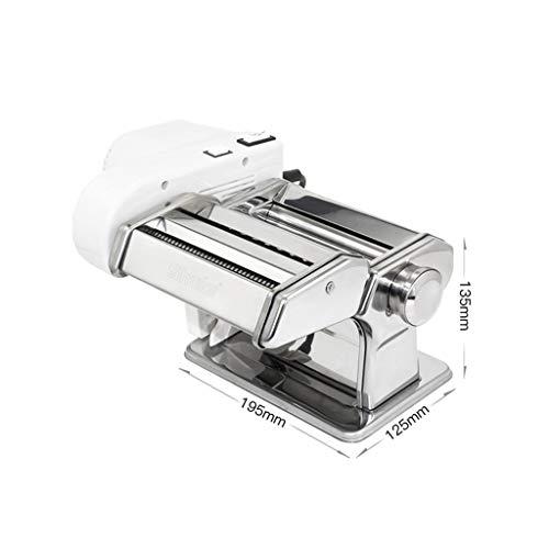 ZWB Máquinas para Pasta Manuales Pasta máquina eléctrica, Manual de la máquina del Fabricante de Pasta Fideos máquina de Tow-in-One, 7 Ajustes Grosor del Fresh Fettuccine Lasaña Dough Roller C