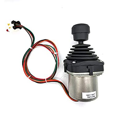 Compatible with 1600317 1001166539 1001129555 1001118417 Lift/Swing Joystick Controller for JLG 660SJ 460SJ 600A 450AJ 450A 600S 601S 600SC 660SJC from Luqing
