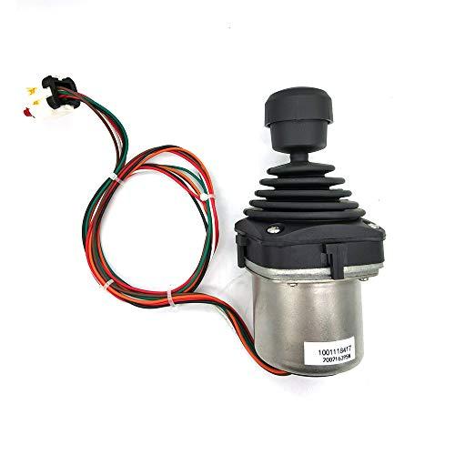 Compatible with 1600317 1001166539 1001129555 1001118417 Lift/Swing Joystick Controller for JLG 660SJ 460SJ 600A 450AJ 450A 600S 601S 600SC 660SJC