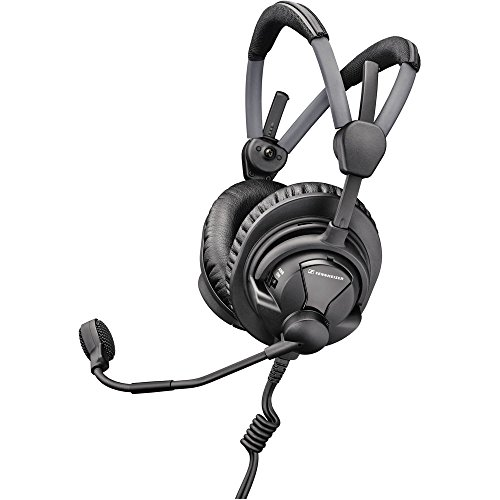 Sennheiser HMDC 27 Professional Broadcast Headset with Dynamic Microphone, II-X3K1 Cable and NoiseGard