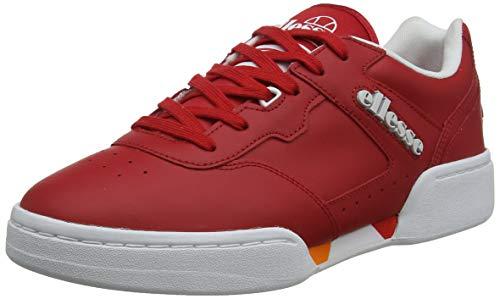 ellesse Herren Piacentino 2.0 Sneaker, Rot (Red/White Red/Wht), 43 EU