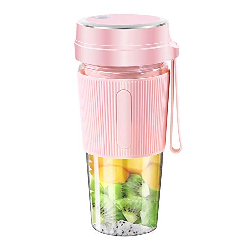 Juicer Fully Automatic Blender Hand Freshly Squeezed Usb Juicing Cup 粉色