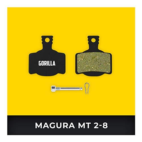 Magura Bremsbeläge MT-2 MT-4 MT-S MT-6 MT-8 Typ 7 für Fahrrad Scheibenbremse I Gesintert I Hohe Bremsleistung I Langlebiger & Passgenauer Bremsbelag