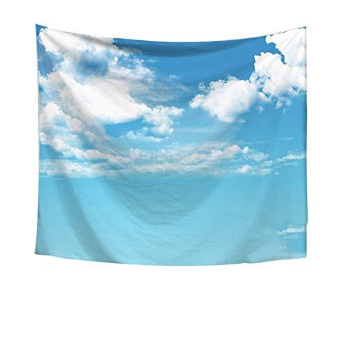 qhtqtt Tapisserie Himmel Wolken Drucken Wandbehang Tapisserie Kunst Zimmer Wohnkultur Für Schlafzimmer Wohnheim Dekor 150X200 cm A