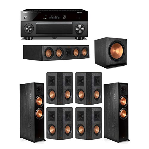 Purchase Klipsch 7.1.2 Ebony System - 2 RP-8060FA,1 RP-404C,4 RP-402S,1 SPL-150,1 RX-A3080 Receiver