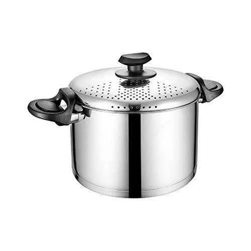 Pot À Soupe 304 En Acier Inoxydable Un Pot Multi-usages Vidange Couvercle Cuisinière À Gaz Universel Ménage Pot À Lait Pot