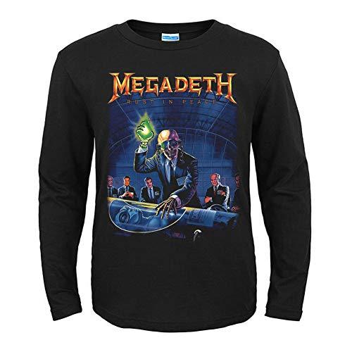 Megadeth - Camiseta de manga larga para hombre