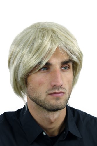 WIG ME UP - Perruque homme Rockstar longue volumineuse mélange blond clair WL-2253-24/613