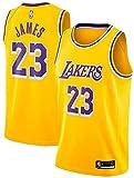 DIMOCHEN Movement Ropa Jerseys de Baloncesto para Hombres, NBA Lakers 23 James, Fresco, cómodo, Camiseta Uniformes Deportivos Tops(Size:M,Color:G1)