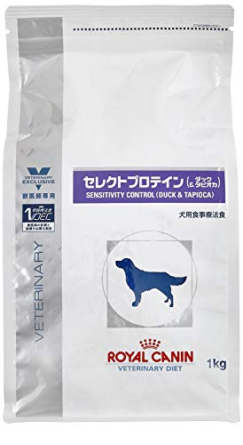 ロイヤルカナン セレクトプロテインダックタピオカ ドライ 犬用 1kg 療法食