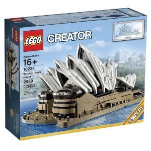 LEGO Creator Expert 10234 Sydney Opera House Block Toys