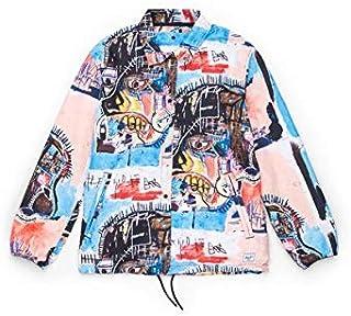 Herschel Jean-Michel Basquiat Voyage Coach Jacket Women The Skull Polyester diamond dobby ripstop with DWR finish Neckline...