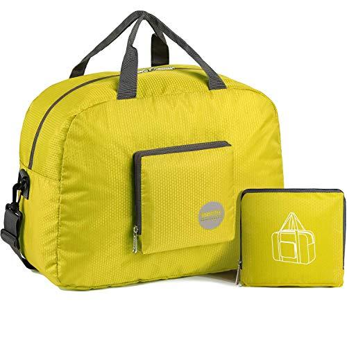 WANDF - Bolsa de Viaje, Color Yellow 25l, tamaño 25 L