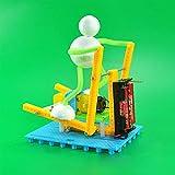 FGBV DIY Juguete Hecho a Mano Robot Robot Modelo Montaje de Juguetes Modelos - para Regalo Niño (Color: -) Manmiao