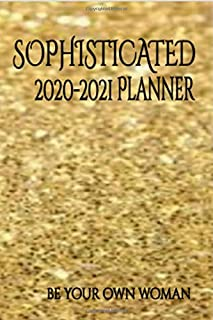 "Sophisticated 2020-2021 Budget Planner and Calendar Organizer for Women - Monthly Budgeting Journal, 6"" x 9""-New Design- C..."