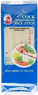 Fideos de arroz de gallos, 1 mm, 1ª calidad, (paquete de 5x375 g)