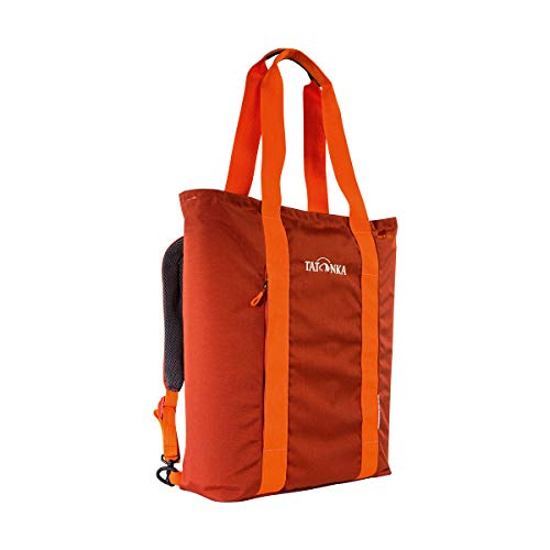 Tatonka Youth Grip Bag Rucksack, Redbrown, 41 x 32 x 10 cm