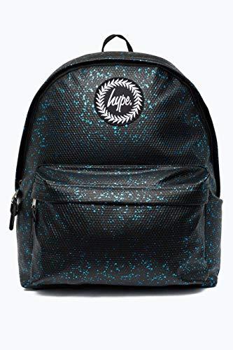 Hype Rucksack Black, Blue Flakes