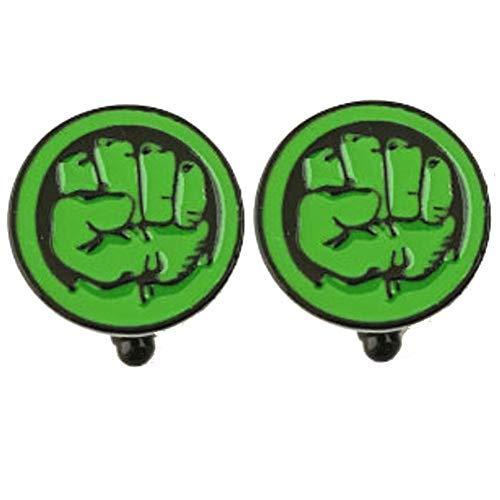 Geek & Glitter Marvel & DC Manschettenknöpfe Set mit Geschenkbox | 30 Stile zur Auswahl – Comics Merchandise Sammlerstücke, Superhelden-Manschettenknöpfe, Manschettenknöpfe für Herren