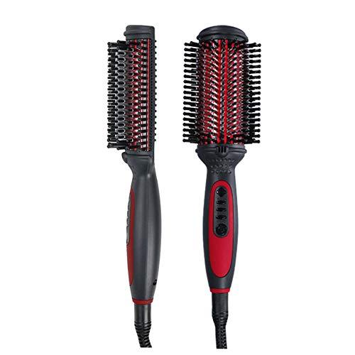 Fer À Friser Lisseur, 2 En 1, Avec Indicateur De Travail À LED, Dual Voltage Salon Fast Hair Styler
