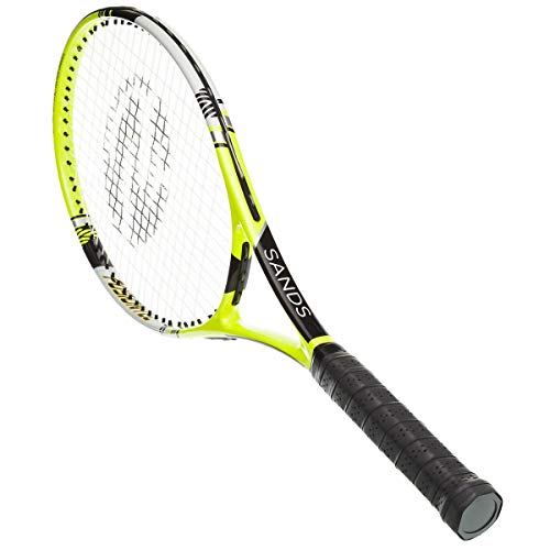 Sands IZX 1000 Tennisschläger Schläger Besaitet Ausbalanciert Carbon 27 Inch