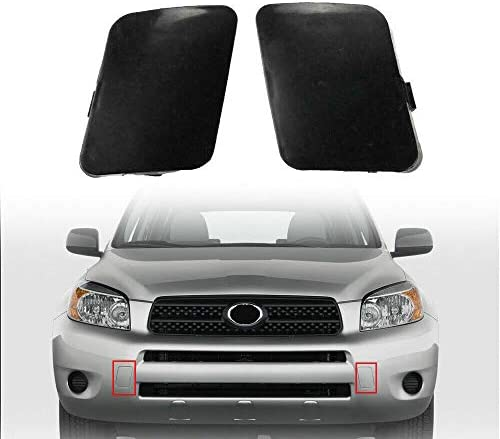 Right Side Front Bumper Tow Hook Arm Hold Bracket Cover For Toyota ...