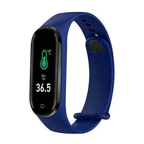 Smartwatch, Monitor de Ejercicio, pulsómetro, Resistente al Agua IP68, batería hasta 20 días, Android e iOS