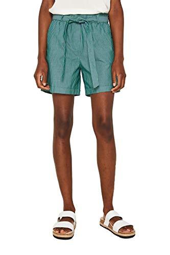 edc by ESPRIT Damen 049CC1C009 Shorts, Grün (Green 310), W(Herstellergröße: 36)