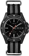 Timex Men's MS1 41mm Maritime Sport Stainless Steel Analog Quartz Nylon Strap, Gray, 20 Casual Watch (Model: TW2R83200JR)